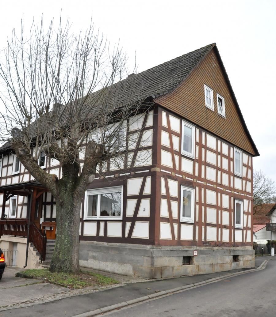044-Denkmalgeschütztes Gebäude in Großenbach