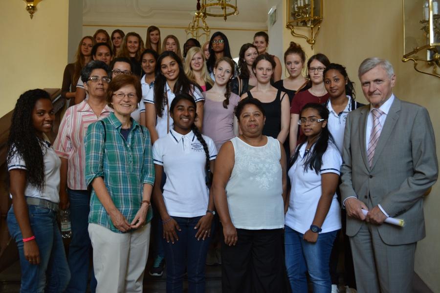 Empfang_Schüler_Mauritius