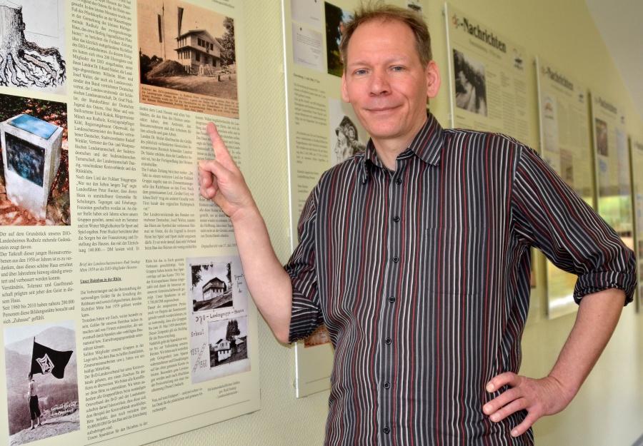 005-Stefan Fasmers (neuer Leiter DJO-Heim)