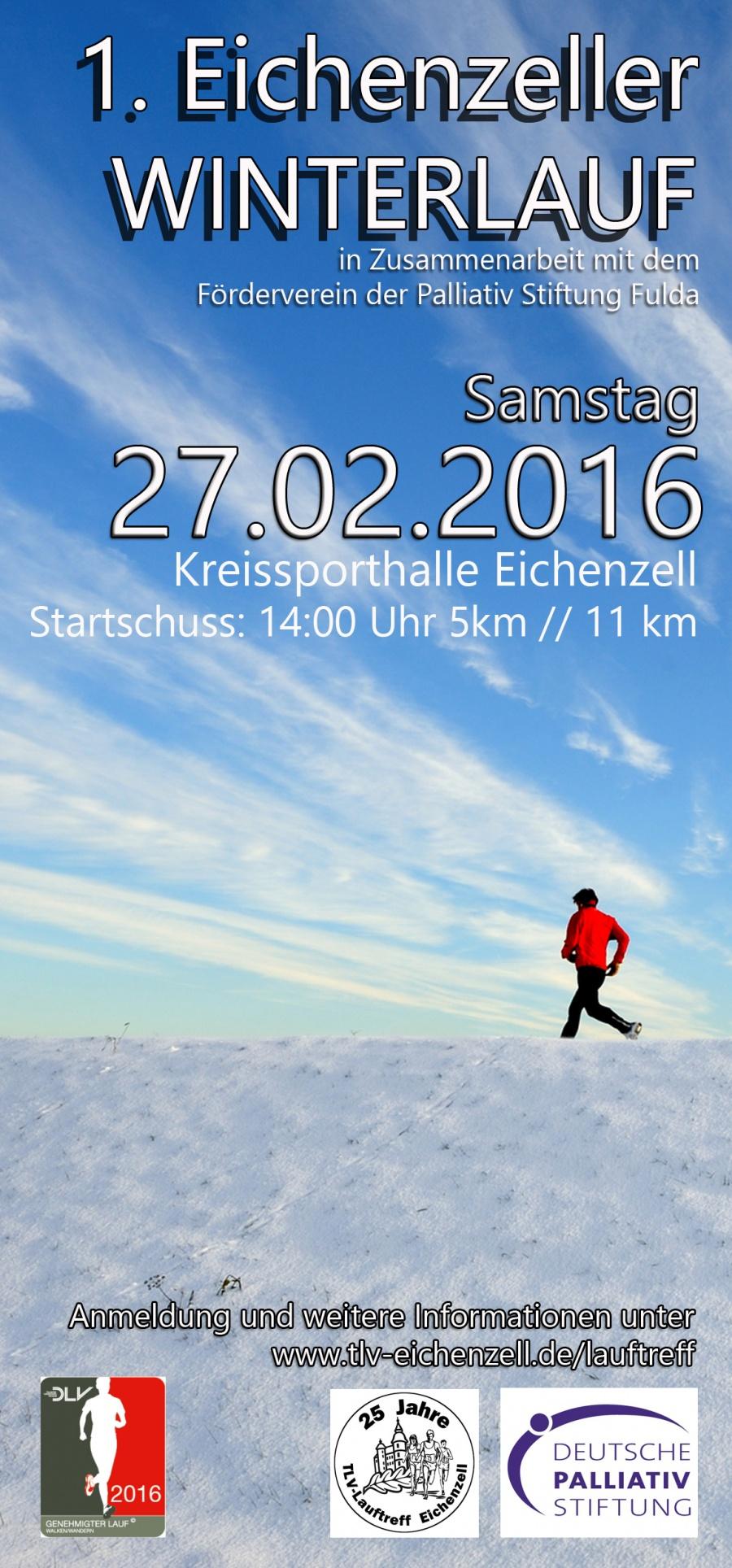 1. Eichenzeller Winterlauf