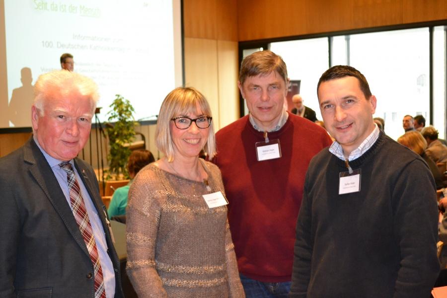 R. Pfeifer, B. Faber-Ruffing, Geschäftsführer M. Ziegler, St. Flicker