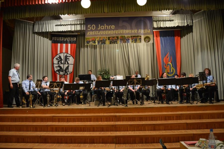 Marching-Band der FF Bachrain