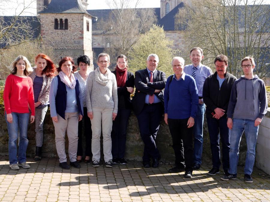 Von links: Constanze Runge-Schmerbauch, Dr. Gabriele Vogt, Barbara Flügge, Christina Ferrero, Ilona Thielemann, Michaela Düllmann, Dr. Thomas Scharf-Wrede, Gustav Bücker, Dr. Edgar Kutzner, Werner Buchwald, Lukas Happ.