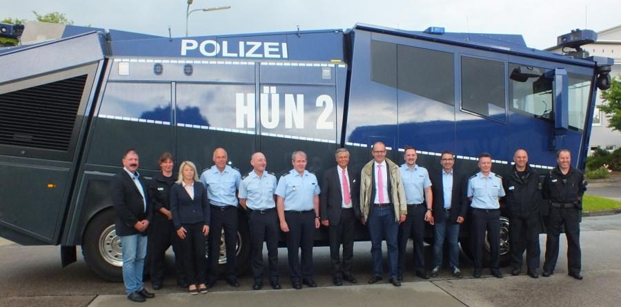 BPOL Hünfeld_Bosbach und Brand bei Bundespolizei Hünfeld1