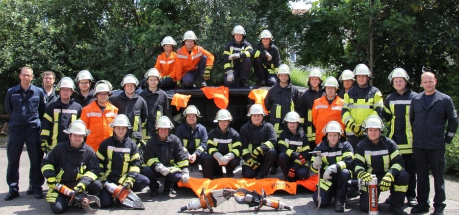 Feuerwehr Pilotlehrgang