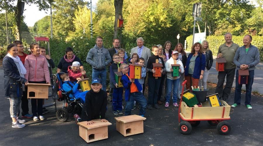 Aktion Möbel Für Tiere Schulkinder Engagieren Sich Für Die Rhöner